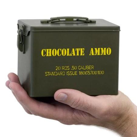 Chocolate Ammo Chocolate Guns  Bullets  www