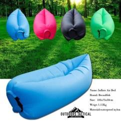 Inflatable Camping Chair Fur Bean Bag Breezebag Outdoor Lounger Outdoors Tactical