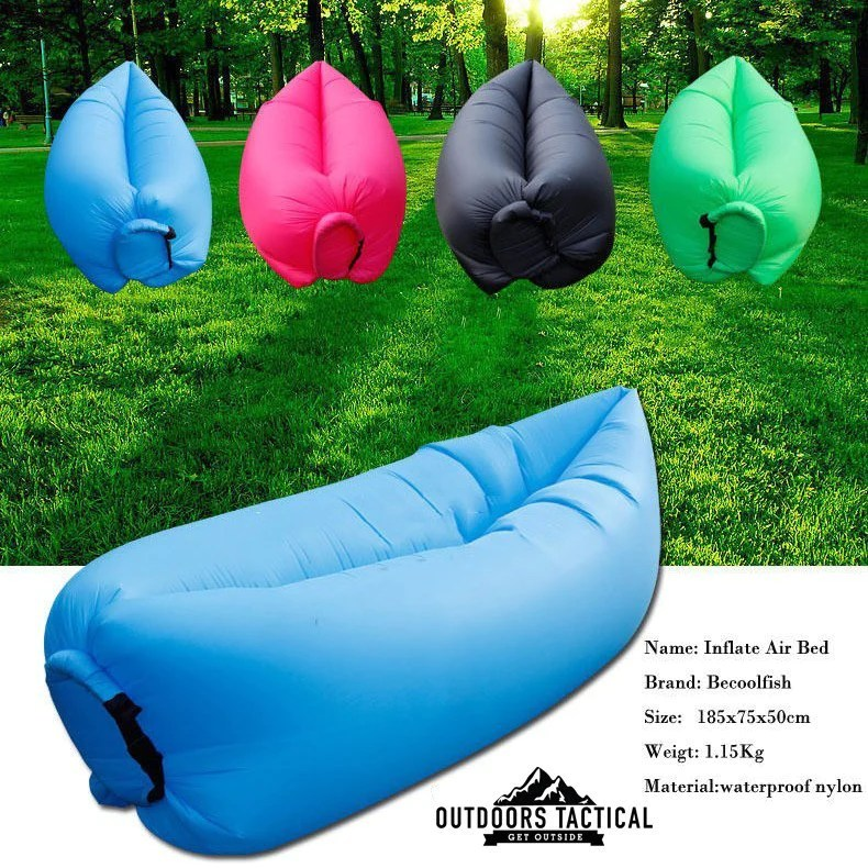 inflatable chairs for adults hot pink velvet office chair breezebag outdoor lounger outdoors tactical air fast camping