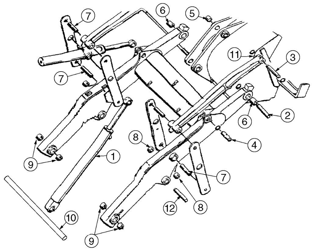 wiring diagram for 580 super e case backhoe case 580