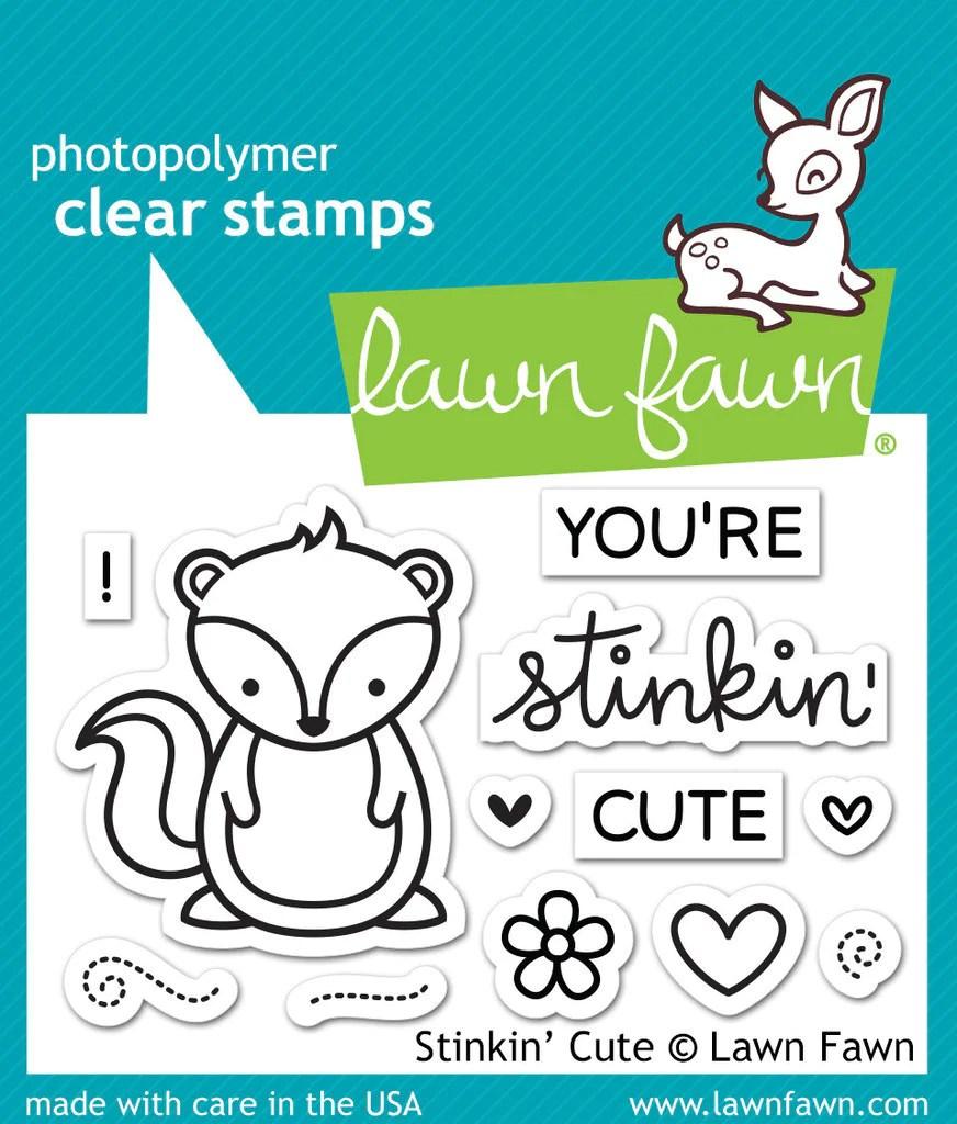 lawn fawn stinkin cute