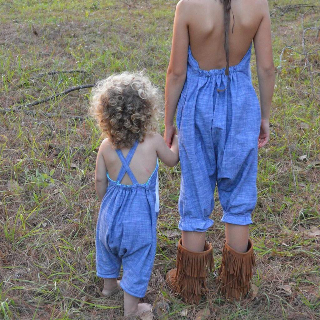 Barefoot Boy Blue Jeans