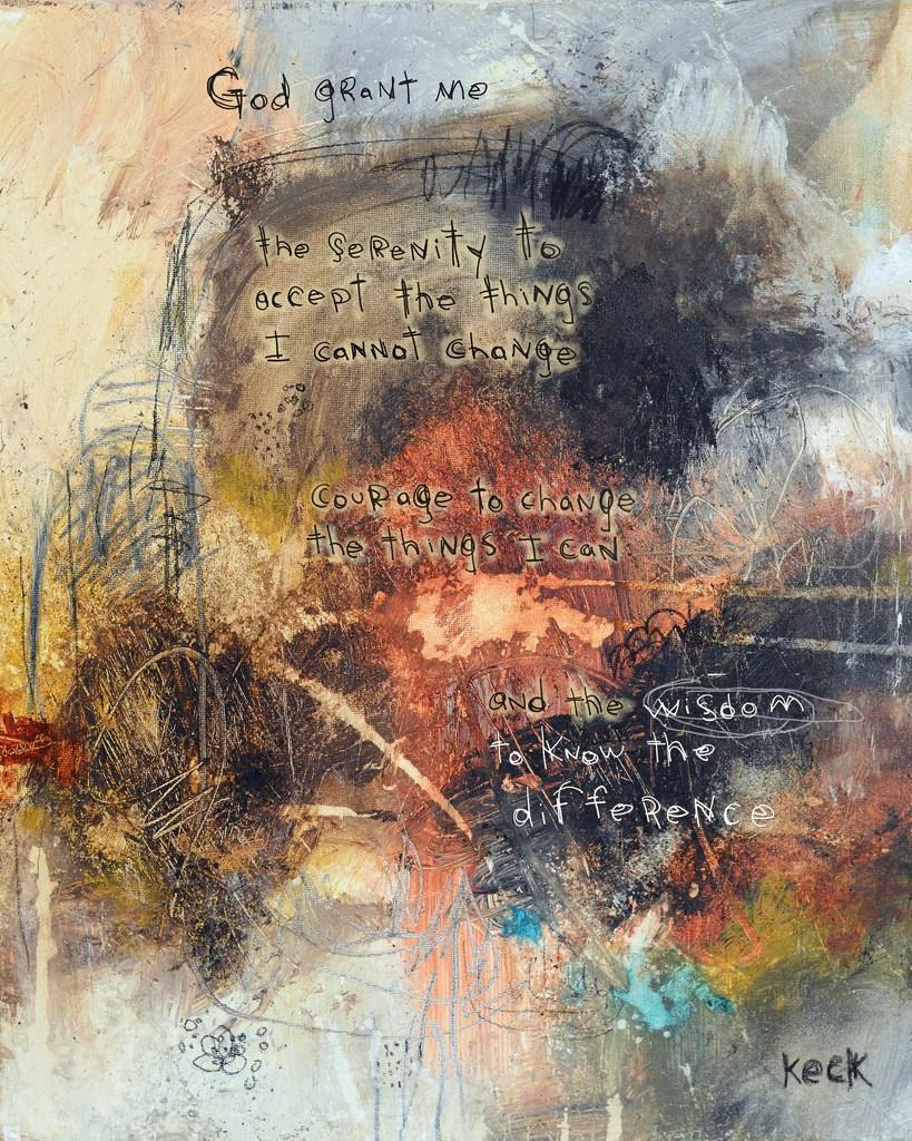 111504 serenity prayer canvas