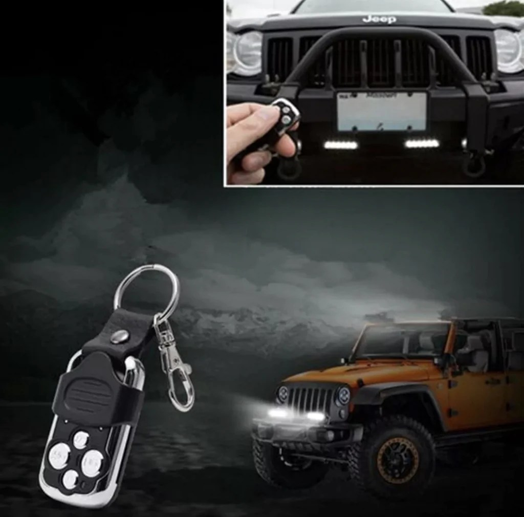 wiring harness kit remote control switch for your light bar offroad auto parts [ 1024 x 1010 Pixel ]
