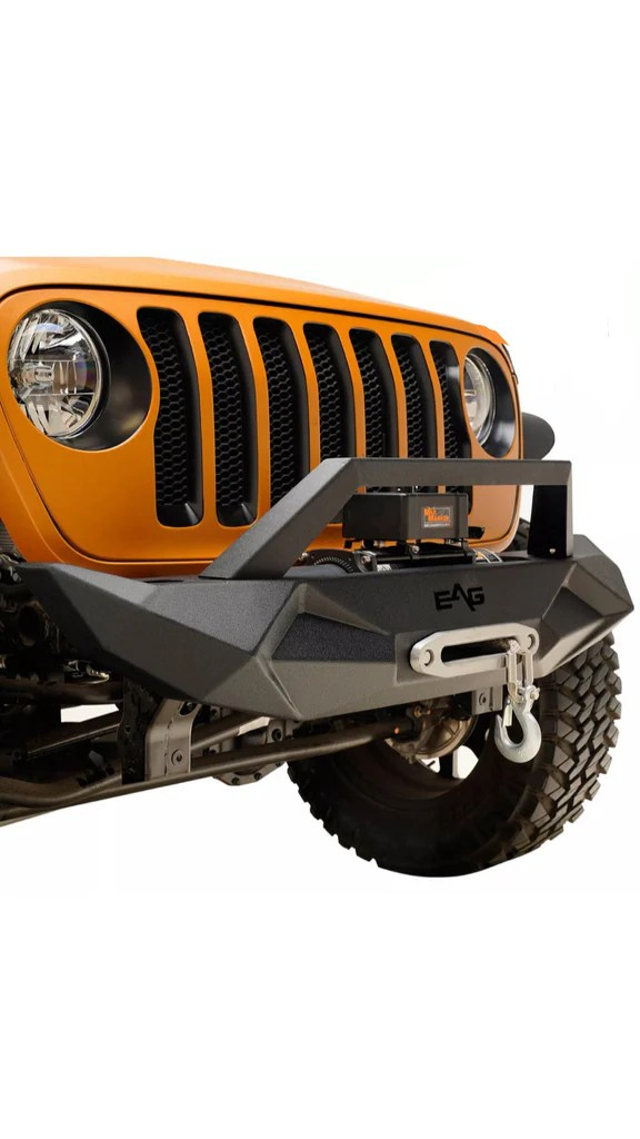 Eag Jeep Parts : parts, 07-19, Wrangler, Front, Bumper, Offroad, Parts