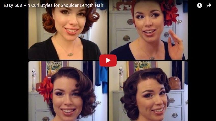 1950 hairstyle tutorials 30 tutorial