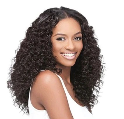 indian temple curly hair extension