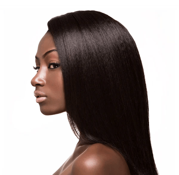 ENRICHED SILKY RELAXED STRAIGHT HAIR EXTENSION Pure