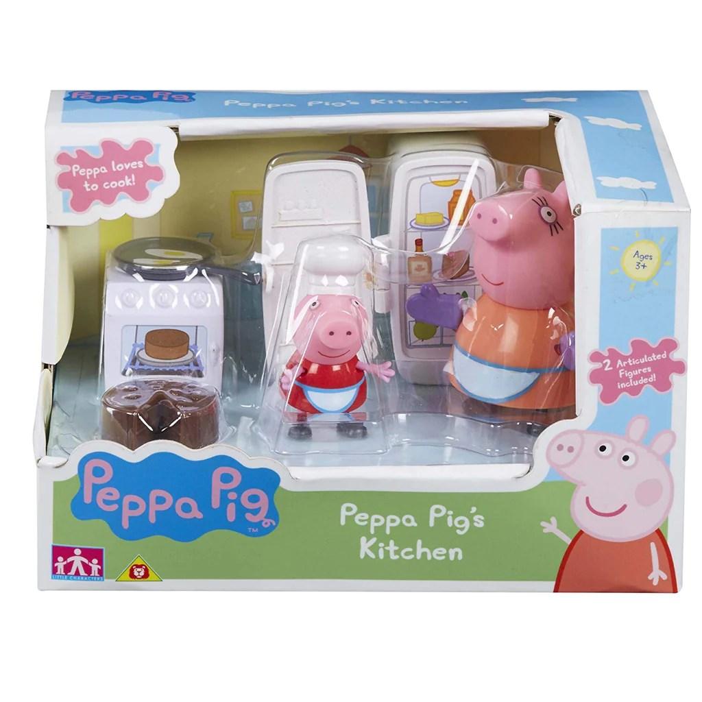 pig kitchen signs peppa playset 06496 dash n jess