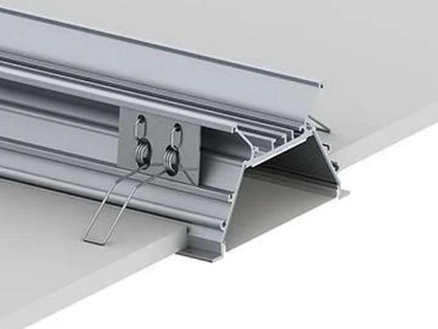 3 15 linear recessed led channel strip model rplw80fl