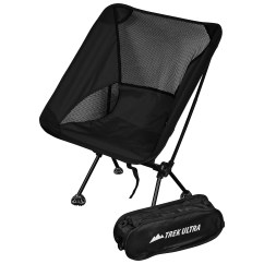Compact Camp Chair Extra Large Bean Bag Trekultra Portable Lightweight With