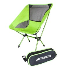 Compact Camping Chair Evenflo Portable High Trekultra Lightweight Camp With Bag