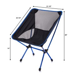 Compact Camp Chair Wing Covers Amazon Trekultra Portable Lightweight With Bag