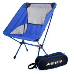 Ultra Lightweight Folding Chair Flex Lite Trekultra Portable Compact Camp With Bag