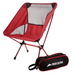 Compact Camp Chair Chairs For Weddings Trekultra Portable Lightweight With Bag