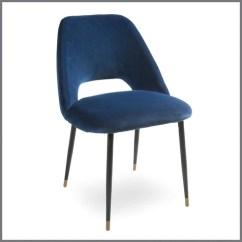 Velvet Dining Chairs Australia White Nursery Chair Germain Navy Interiors Online