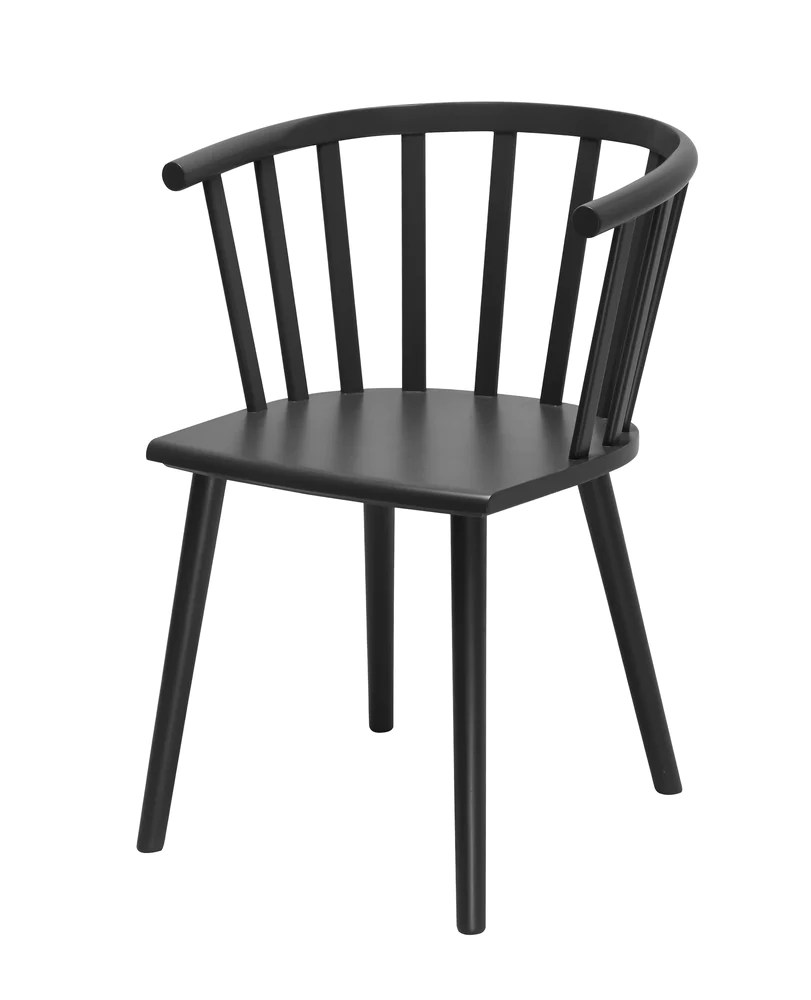 Windsor Chairs Black Malmo Dining Chair Black