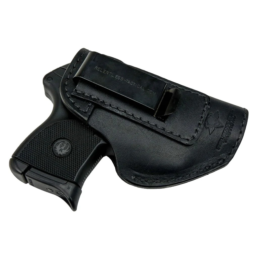 defender iwb leather holster fits ruger lcp lcpii sig p238 p290 s w bodyguard 380 and most 380 s [ 1024 x 1024 Pixel ]