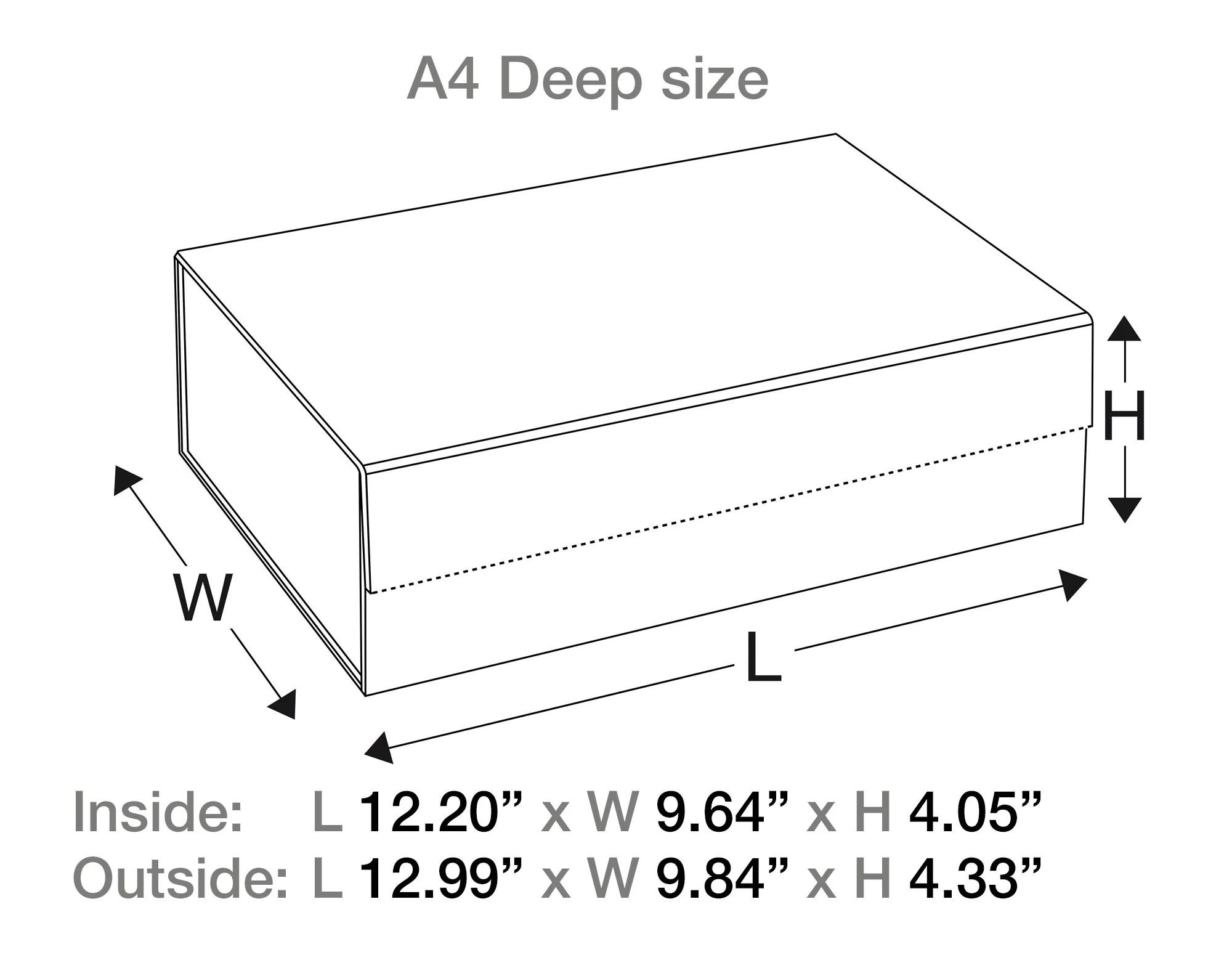 hight resolution of  natural kraft gift box line