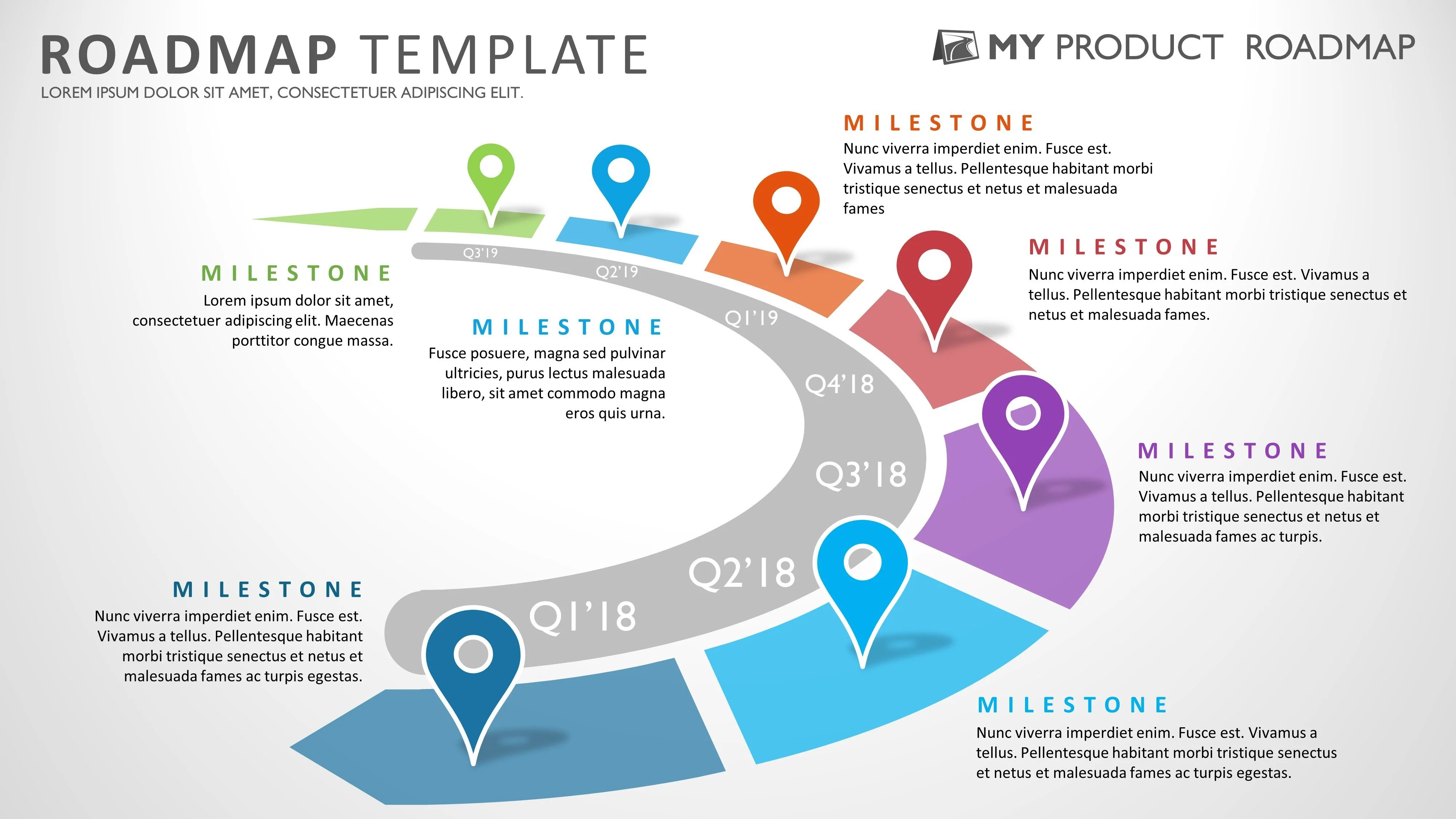 hight resolution of product strategy portfolio management development cycle project roadmap agile planning simple plan template diagram powerpoint technology