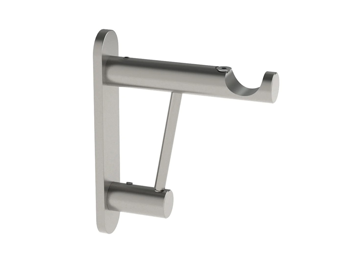 Strong Curtain Pole Bracket For Heavy Curtains 19mm Curtain Poles Walcot House