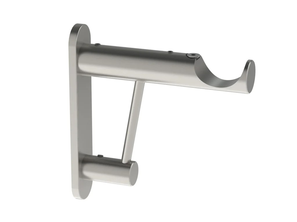 Strong Curtain Pole Bracket For Blackout Curtains 30mm Curtain Poles Walcot House