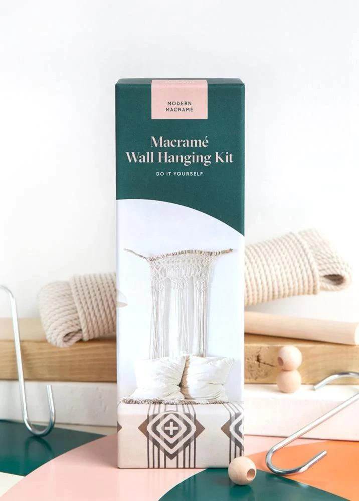 Diy Macrame Wall Hanging Kit Modern Macramé
