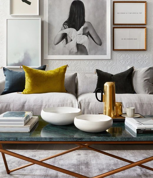 living room cushions types of windows how to get creative with without going over the top urban styled on a white sofa