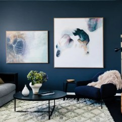 Living Room Color With Grey Sofa Red Black And Cream Ideas The Ultimate Guide To Colour Selection For Your Interior Urban Rhythm White Curtains Navy Blue Wall 2 Paintings