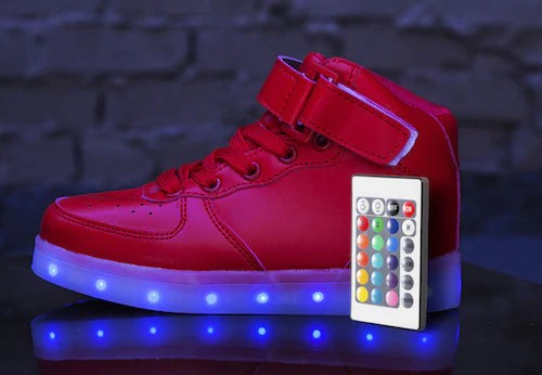 Led Light Shoes Remote