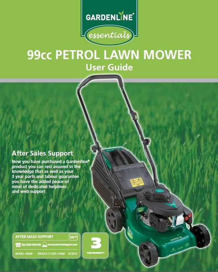 43668 Blades To Suit Aldi 99cc Petrol Lawn Mower