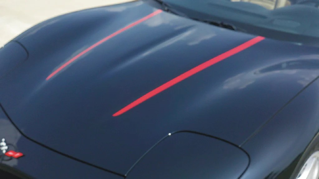c5 corvette hood stripes