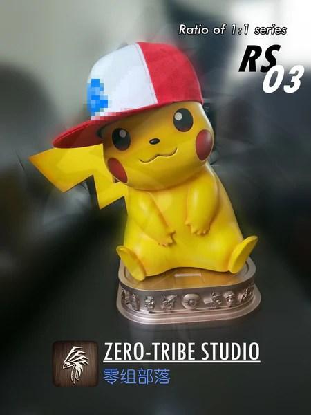 Pokemon Zero Tribe Rs03 1 1 Scale Pikachu Ver 2 0