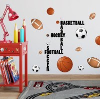 All Sports Boys Wall Decals