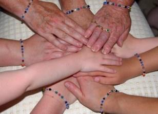 Hope Crystals Cancer Awareness Bracelets