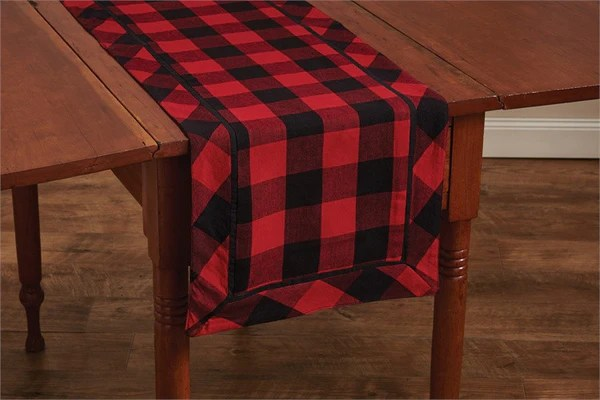Buffalo Check 505 X 145 Table Runner Pine Hill Collections