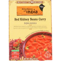 Kitchen Of India Cabinet Refinishing Kit Dinner Red Kidney Beans Curry Rajma Masala 10 Oz