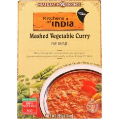 Kitchen Of India Non Slip Shoes Dinner Mashed Vegetable Curry Pav Bhaji 10 Oz Case