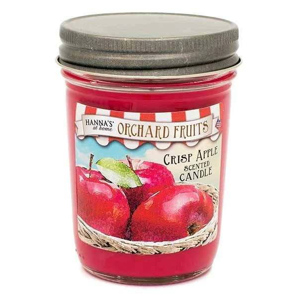 Buy Crisp Apple Scented Small Jar Candle at Candlemartcom