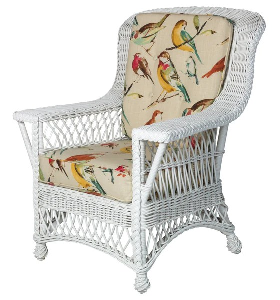 arm chair rocker best glides for wood floors rockport size rattan imports designer wicker by tribor