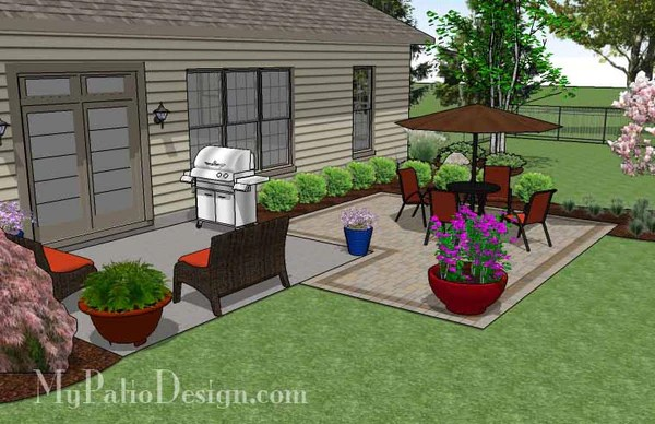 small rectangular kitchen table grohe faucets parts diy patio addition design   downloadable plan ...