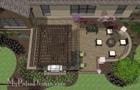 Dreamy Backyard Patio Design with Pergola | Download Patio ...