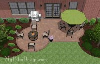 Small Backyard Patio Design | Layouts and Material List ...