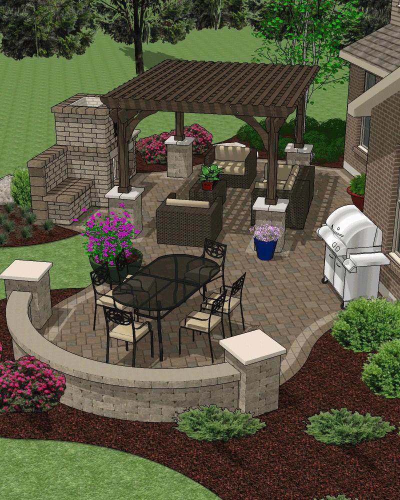 Affordable Patio Design Backyard