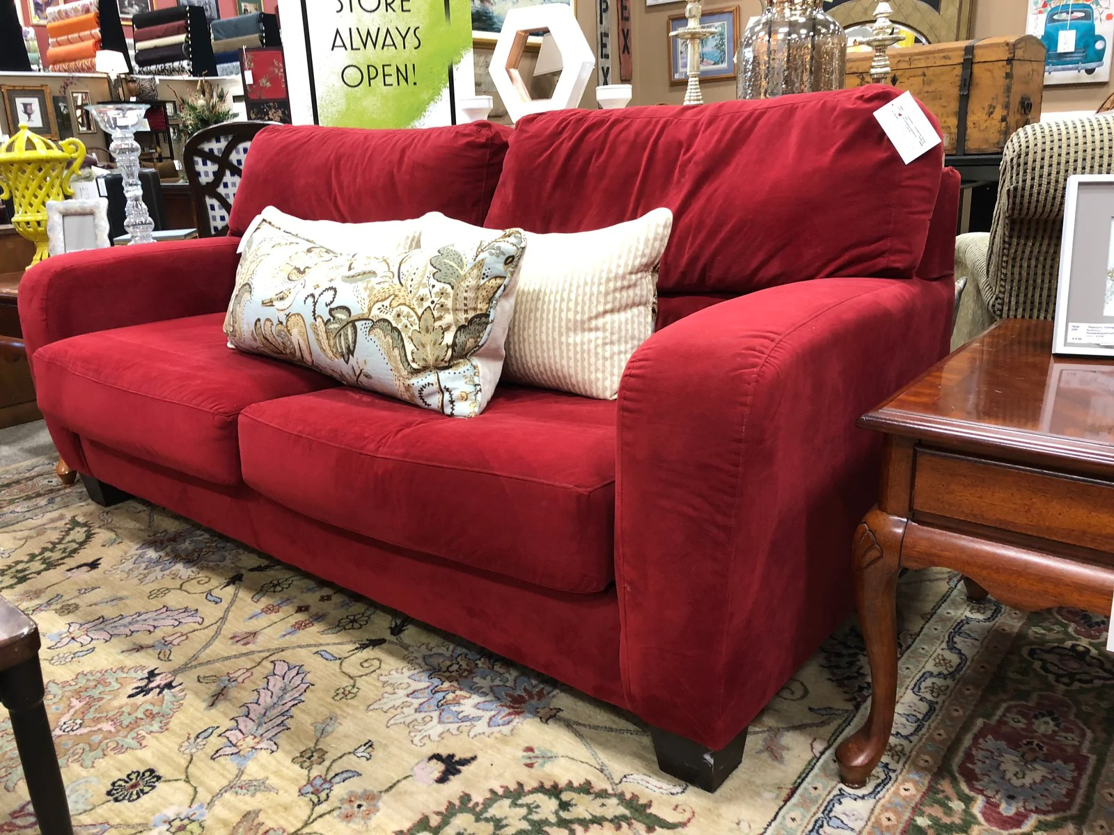 broyhill sleeper sofa best way to clean faux leather queen petersons consigning design