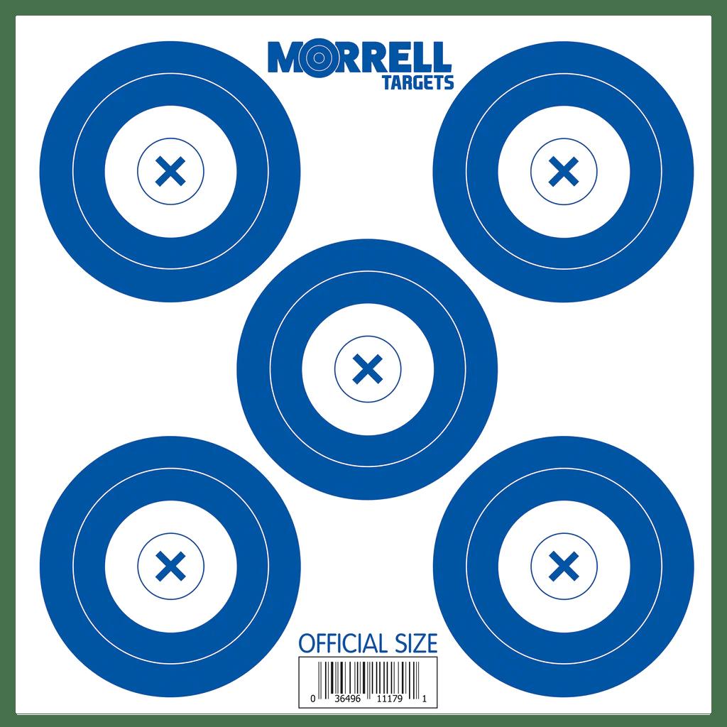 5 spot paper target
