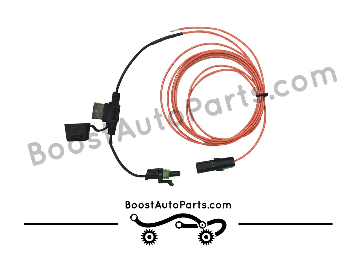medium resolution of dual function tow mirror wiring harness running light signal boost auto parts