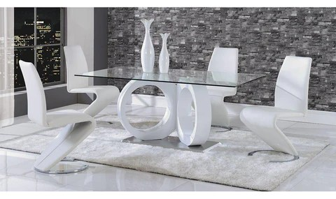 dining room sets 6 chairs fix sinking office chair buy affordable set at jennifer furniture anthe table and 4 option