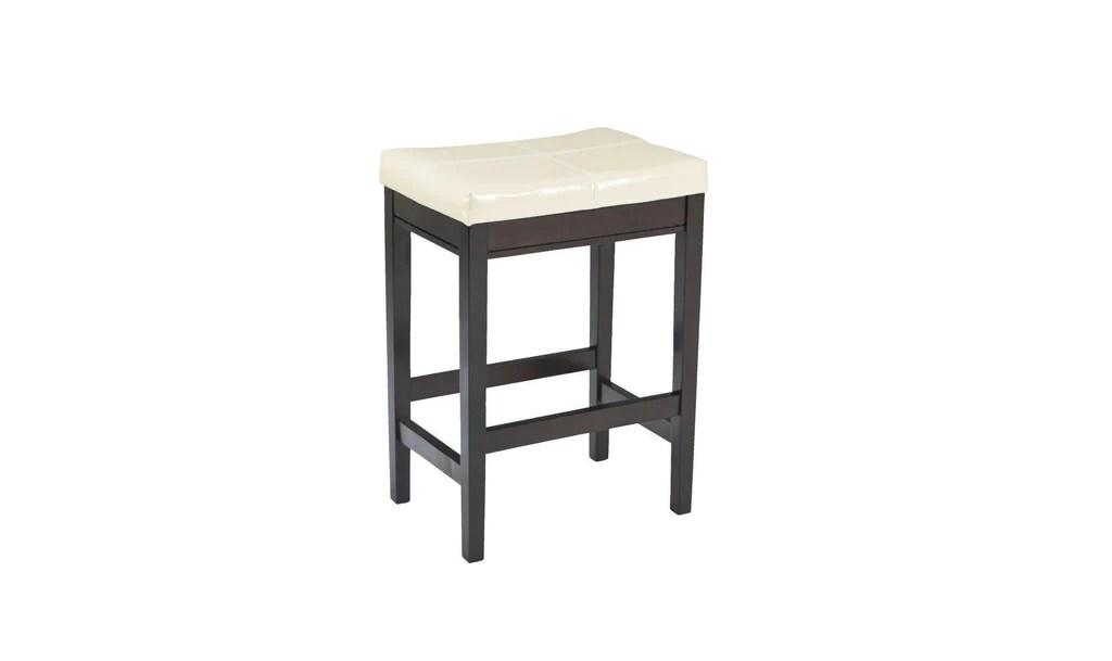Upholstered Bar Chairs Khloe Upholstered Bar Stools 2 Pc