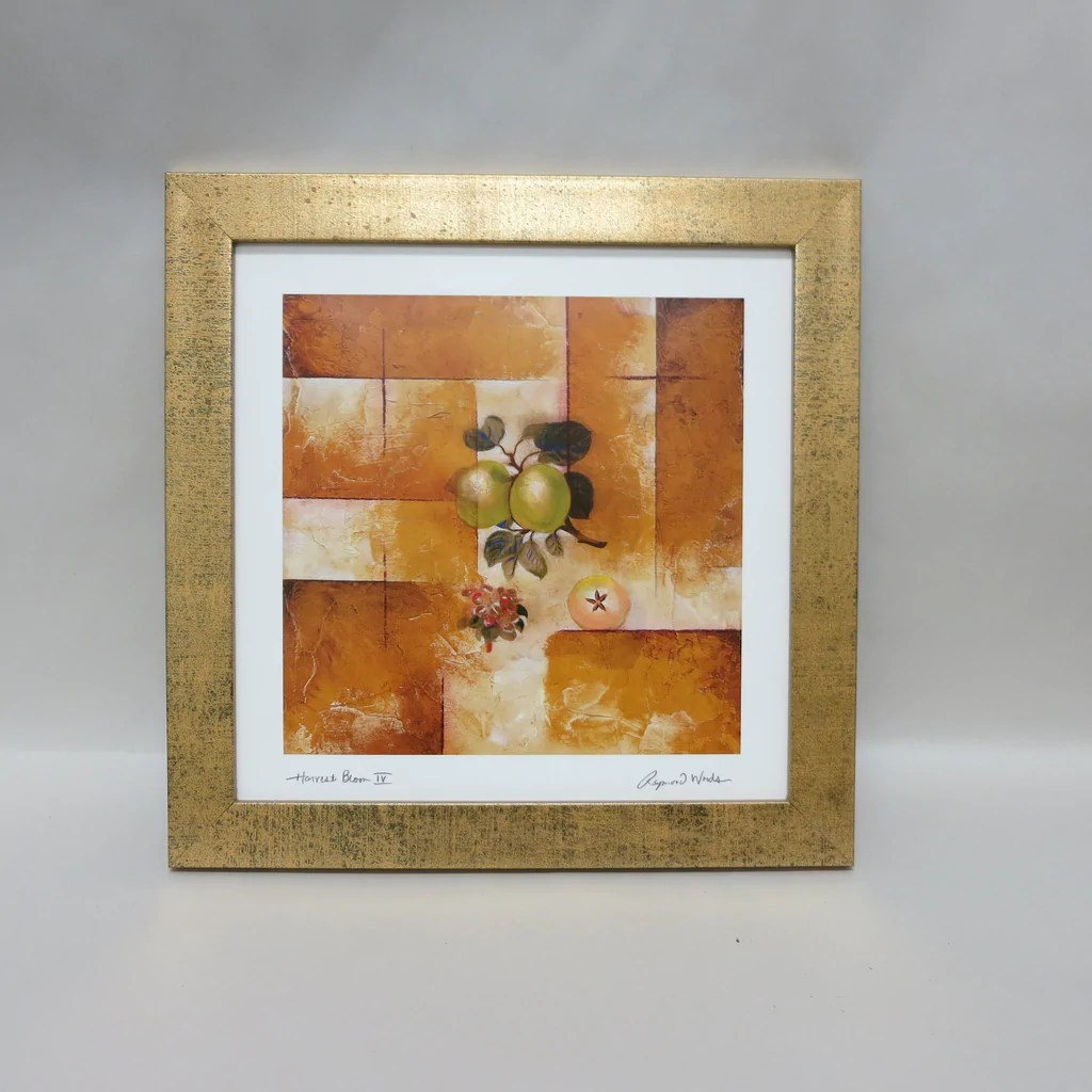 Sq99028 Antique Gold Square Frame - 10 X 10